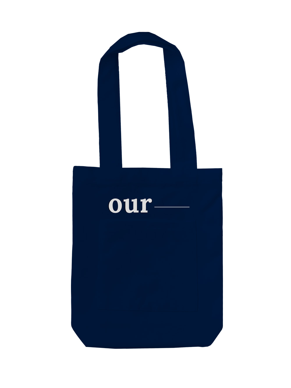 Our record ecobag [Navy]